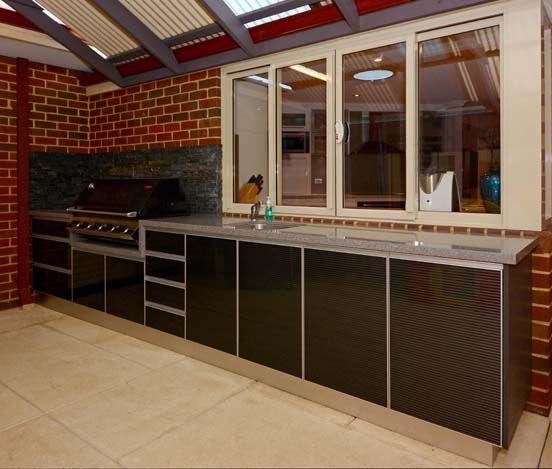 Alfresco Kitchen Doors